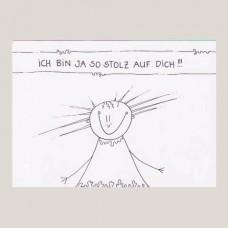 "Karte ""Stolz auf dich"" image"